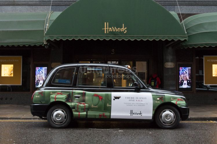 2017 Ubiquitous campaign for Harrods - There Is Only One Sale
