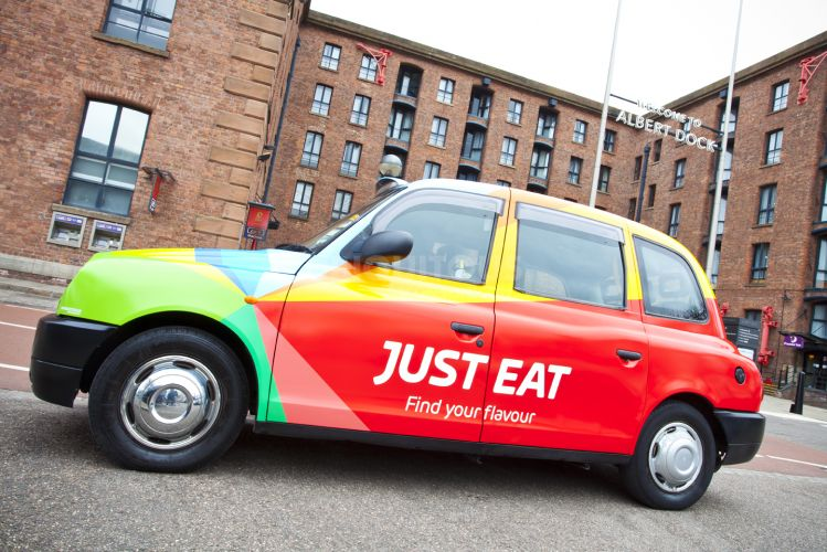 2017 Ubiquitous campaign for Just Eat - Find your flavour - Regional