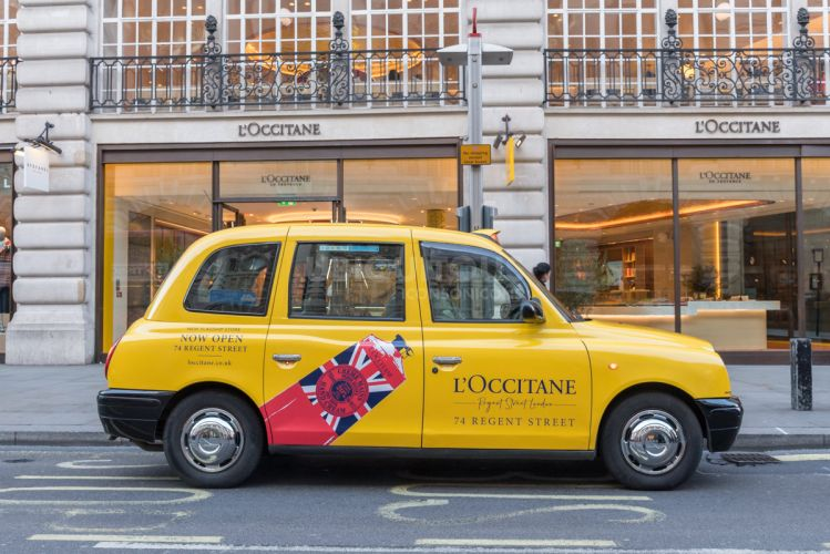 2018 Ubiquitous campaign for L'Occitane en Provence - NEW FLAGSHIP STORE NOW OPEN 74 REGENT STREET