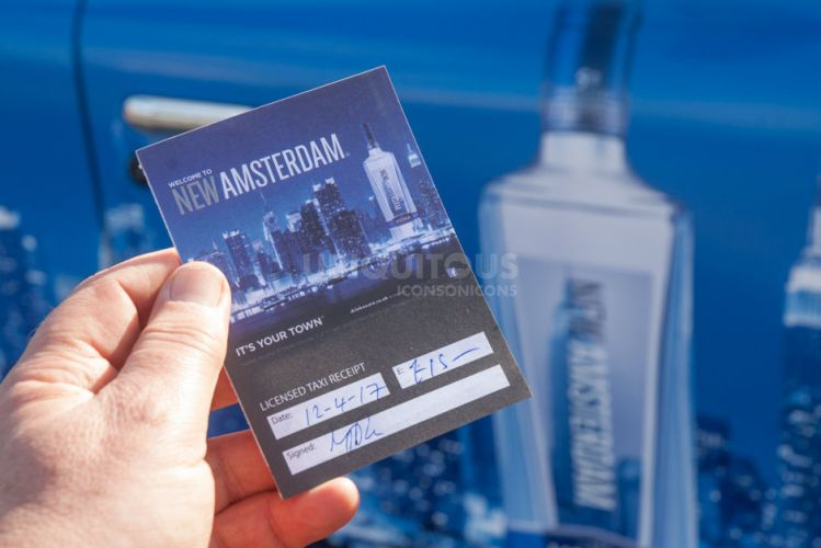 2017 Ubiquitous campaign for New Amsterdam Spirits - It's Your Town