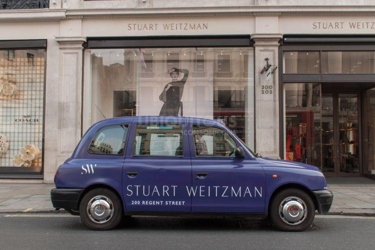 2017 Ubiquitous campaign for Stuart Weitzman  - 200 Regent Street