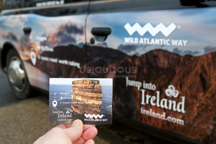 2017 Ubiquitous campaign for Tourism Ireland - Jump Into Ireland