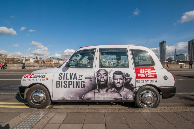 2016 Ubiquitous campaign for UFC - SILVA VS BISPING