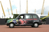 2007 Ubiquitous taxi advertising campaign for UFC - Ultimate fight Championship