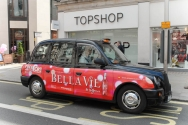 2011 Ubiquitous taxi advertising campaign for Bella Vie - Bella Vie