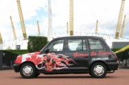 2007 Ubiquitous taxi advertising campaign for UFC - uk.ufc.com