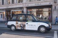 2016 Ubiquitous campaign for Furla - London 221, Regent Street London 71, Brompton Road - Opening Soon