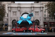 Cath Kidston 180 Piccadilly London flagship opens - free taxi cabs