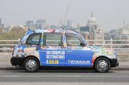 2015 Ubiquitous campaign for Ryan Air - 190 European Destinations