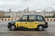 2016 Ubiquitous campaign for Skyscanner - make your next cab yellow...
