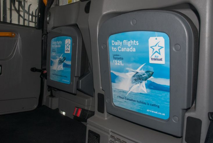 2017 Ubiquitous campaign for Air Transat  - Daily flights to Canada