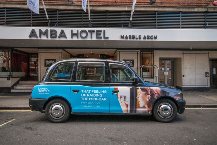 2016 Ubiquitous campaign for Amba Hotels - Book that feeling!