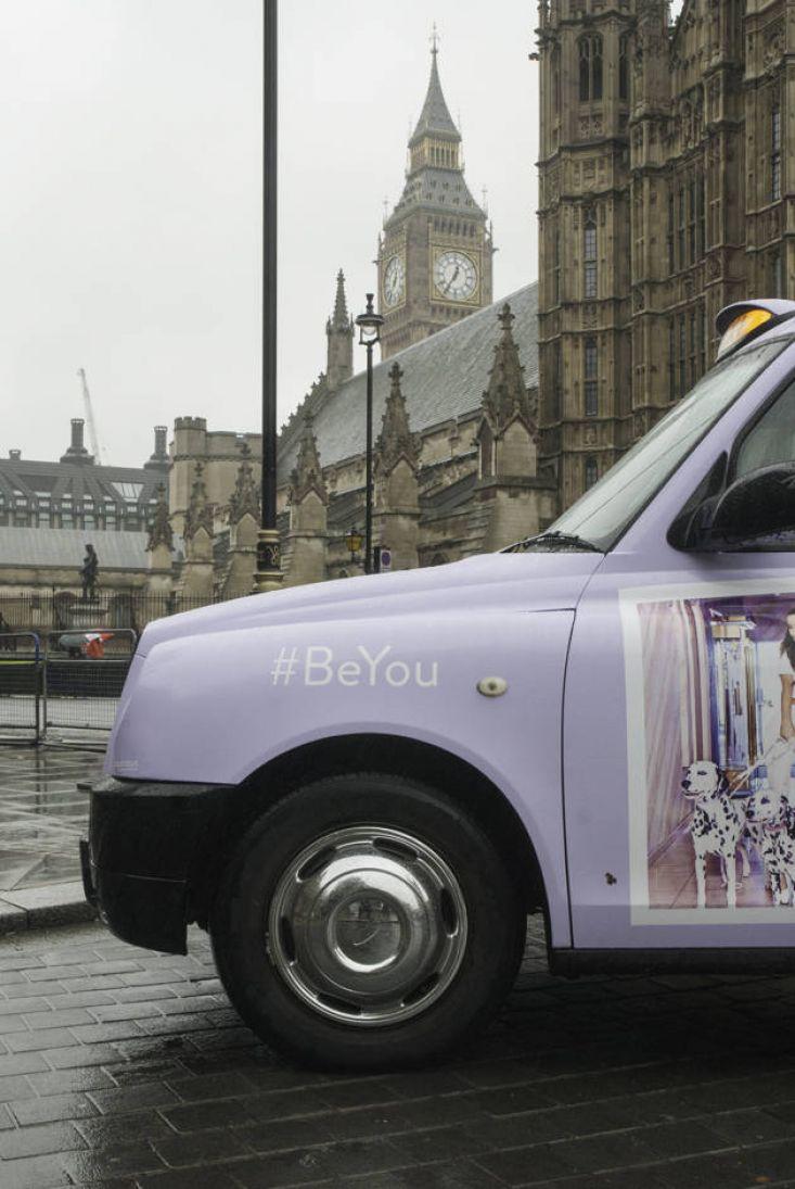 2015 Ubiquitous campaign for Ariana Grande - #BeYou