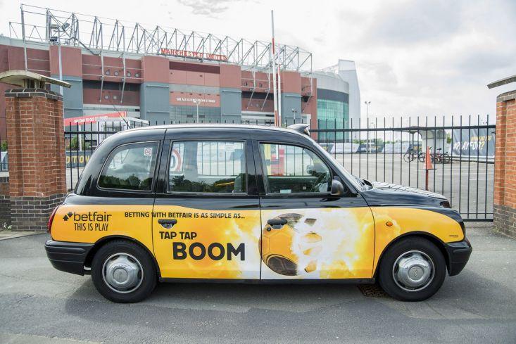 2015 Ubiquitous campaign for Betfair - Tap, Tap, Boom