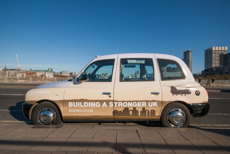 2016 Ubiquitous campaign for BOEING - BUILDING A STRONGER BRITAIN