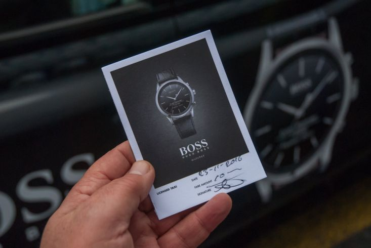 2016 Ubiquitous campaign for Boss Watches - Get Connected!