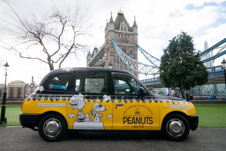 2015 Ubiquitous campaign for The Cambridge Satchel Company - The Cambridge Satchel Company Peanuts Collection