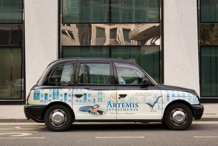 2007 Ubiquitous taxi advertising campaign for Artemis - Various