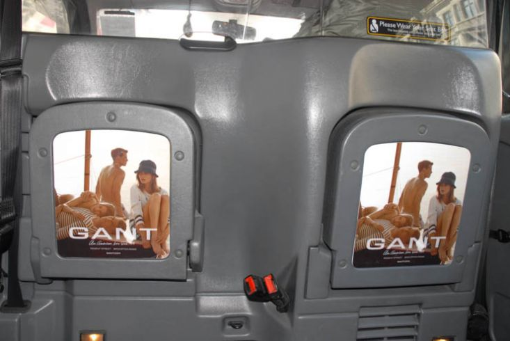 2013 Ubiquitous taxi advertising campaign for Gant - Gant