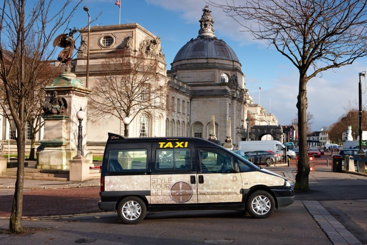 2012 Ubiquitous taxi advertising campaign for Land Securities  - Style Your Life