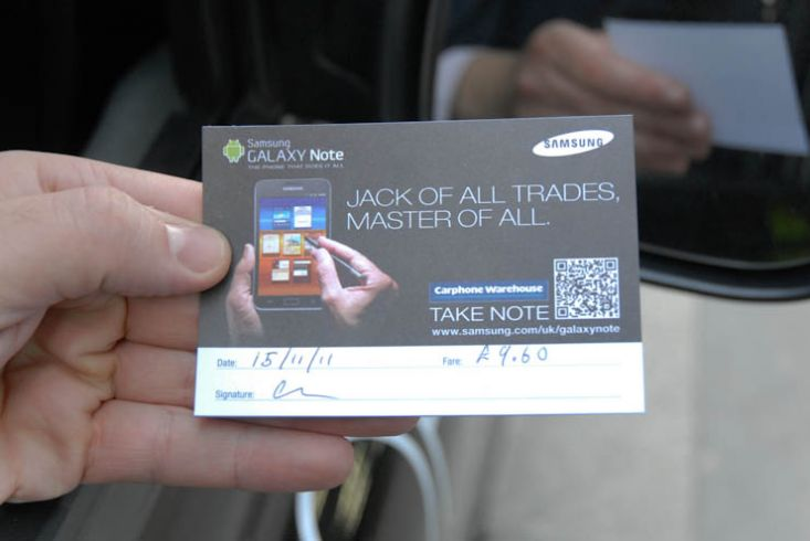 2011 Ubiquitous taxi advertising campaign for Samsung - Jack of all Trades, Master of All