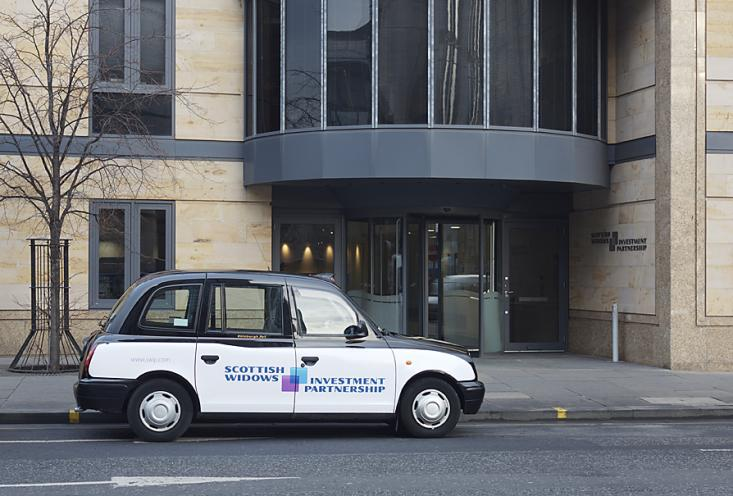 2007 Ubiquitous taxi advertising campaign for Scottish Widows - Scottish Widows