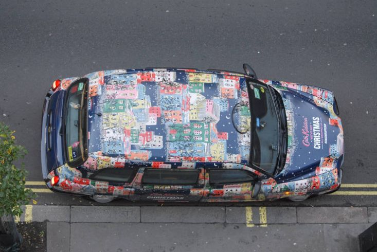 2014 Ubiquitous campaign for Cath Kidston - We've Got Christmas All Wrapped Up