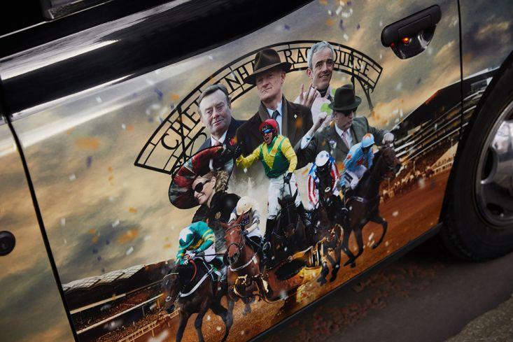 2018 Ubiquitous campaign for The Jockey Club - Cheltenham Festival