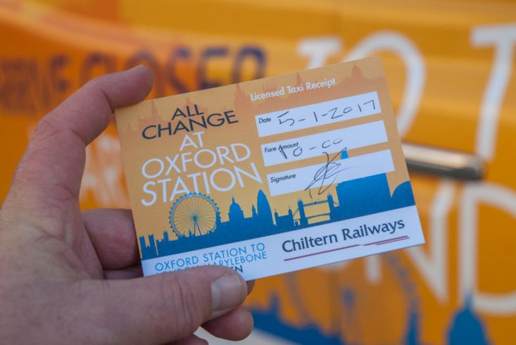 2017 Ubiquitous campaign for Chiltern Railways - ARRIVE CLOSER TO THE HEART OF LONDON