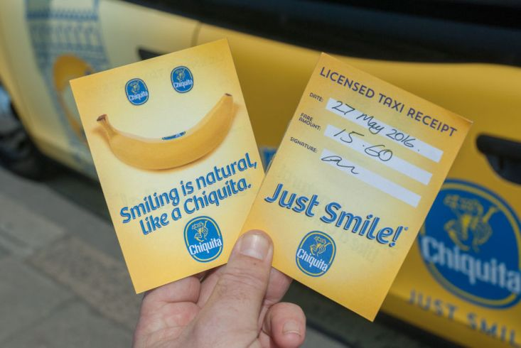 2016 Ubiquitous campaign for Chiquita Bananas - Go Bananas In London!