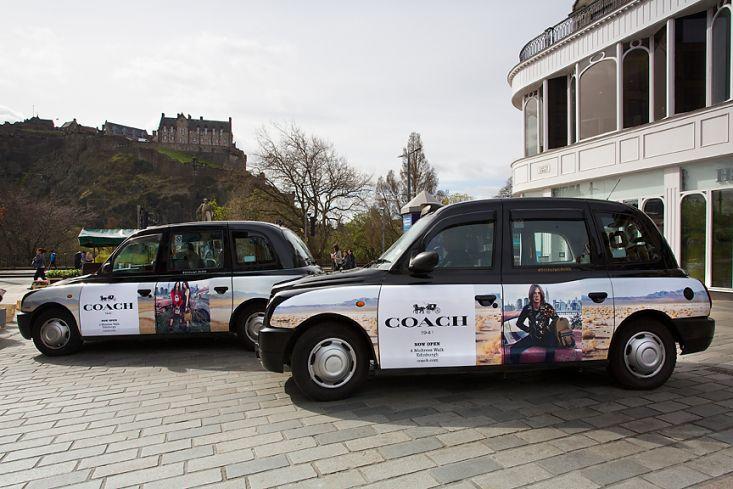 2017 Ubiquitous campaign for Coach - Coach Edinburgh 2017