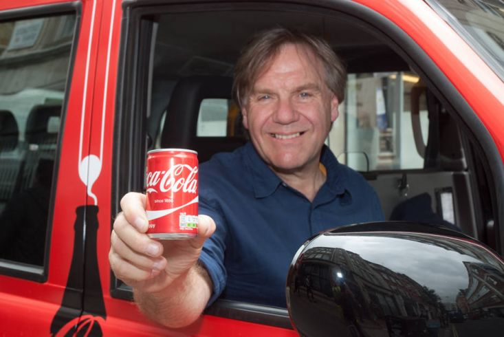 2015 Ubiquitous campaign for Coca-Cola - #ChooseHappiness