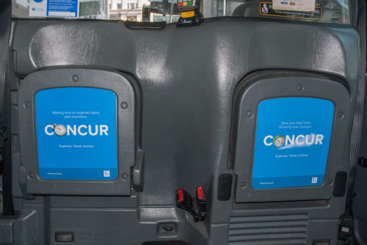 2016 Ubiquitous campaign for Concur  - Travel. Expense. Invoice.