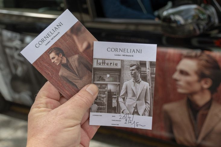 2018 Ubiquitous campaign for CORNELIANI - London - 160 Sloane Sq