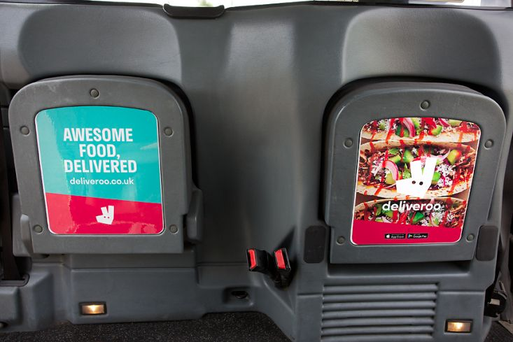 2016 Ubiquitous campaign for Deliveroo - AWESOME FOOD, DELIVERED