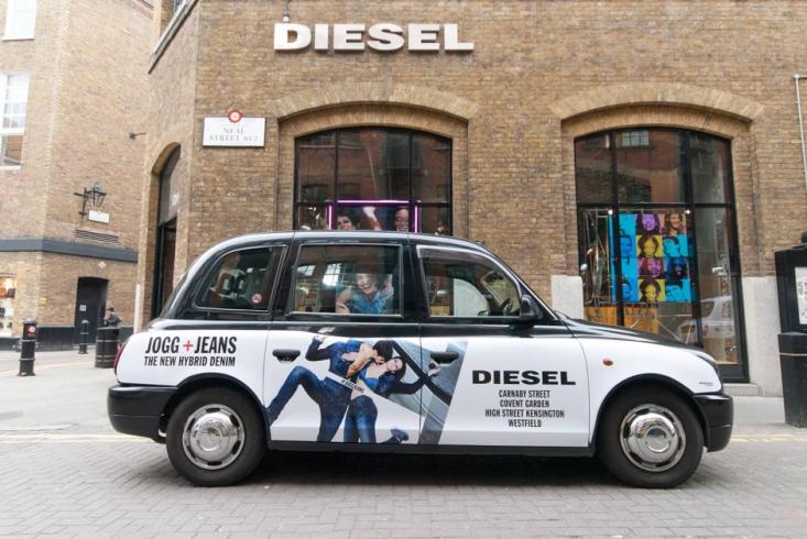 2015 Ubiquitous campaign for Diesel - #JoggJeans - The New Hybrid Denim