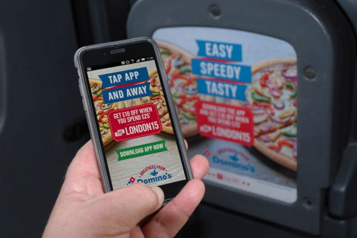 2015 Ubiquitous campaign for Dominos Pizza - Domino's To Your Door At The Tap Of An App