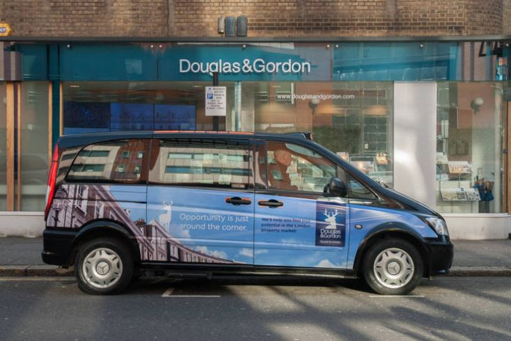 2015 Ubiquitous campaign for Douglas & Gordon - Opportunity is just around the corner
