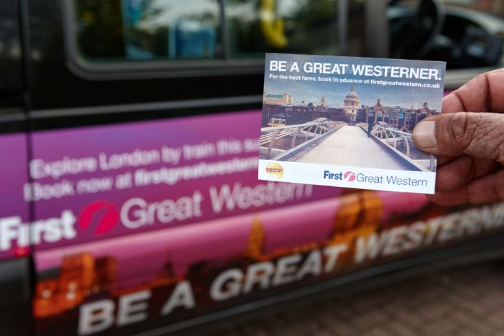 Ubiquitous campaign for First Great Western - First Great Western