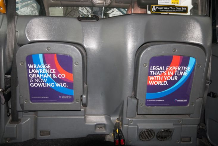 2016 Ubiquitous campaign for Gowling WLG - Legal expertise that's in tune with your world