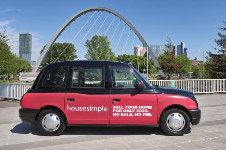 2018 Ubiquitous campaign for House Simple - Sell Your Home For Only £995, No Sale, No Fee.