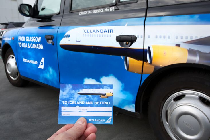 2016 Ubiquitous campaign for Icelandair - icelandair.co.uk