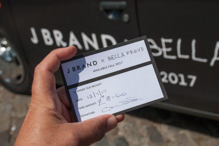 2017 Ubiquitous campaign for J BRAND  - J BRAND X BELLA FREUD