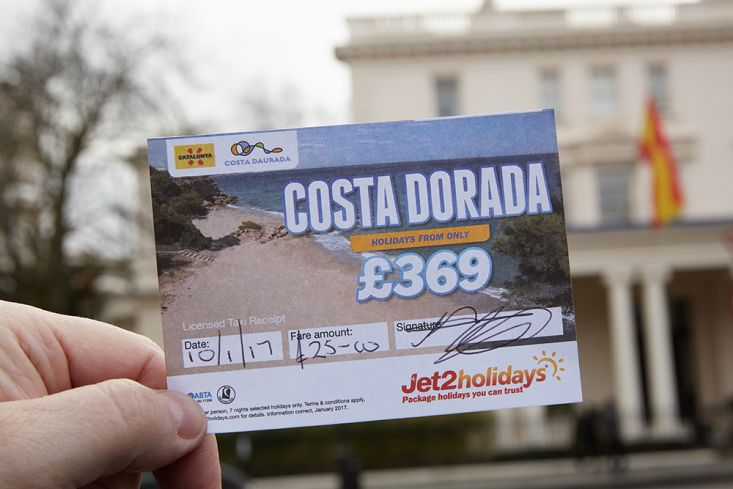2017 Ubiquitous campaign for Jet2Holidays - COSTA DORADA