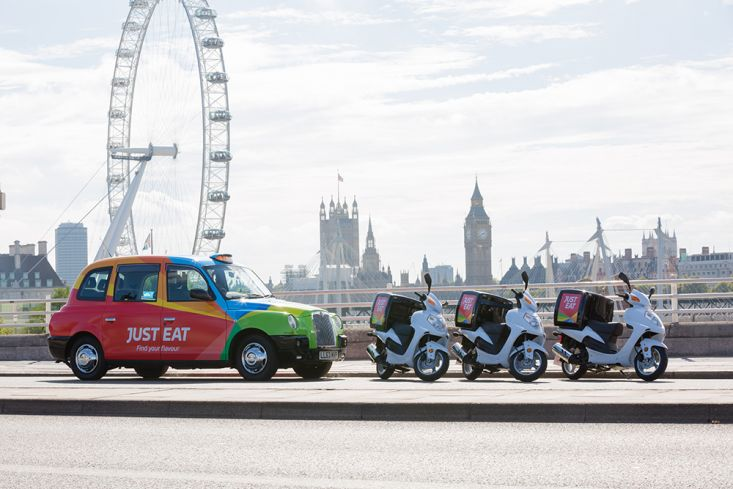 2016 Ubiquitous campaign for Just Eat - Find Your Flavour