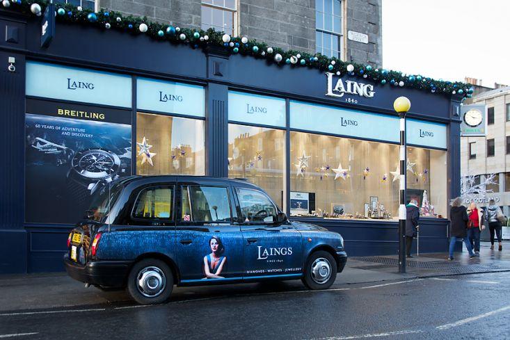 2017 Ubiquitous campaign for Laing Edinburgh - Diamonds - Watches - Jewellery