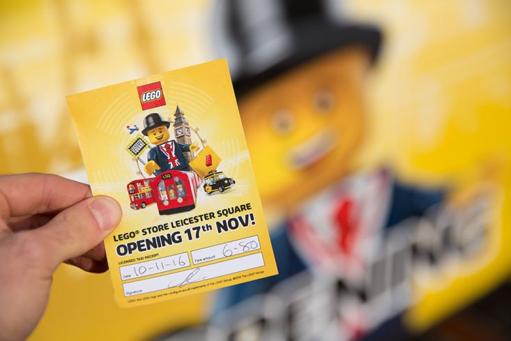 2016 Ubiquitous campaign for LEGO - LEGO STORE LEICESTER SQUARE OPENING 17TH NOV! #LEGOSTORELONDON