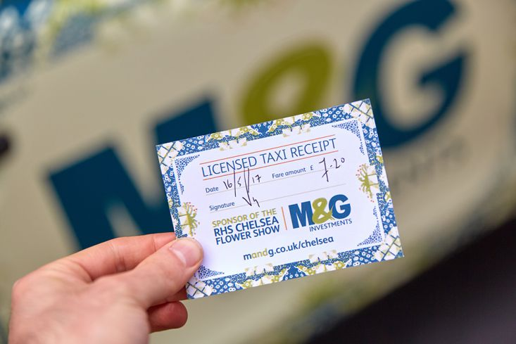 2017 Ubiquitous campaign for M&G - Sponsor Of The RHS Chelsea Flower Show