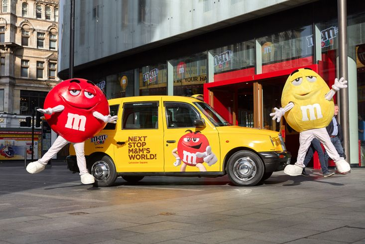 2017 Ubiquitous campaign for M&M's - Next Stop M&M's World!