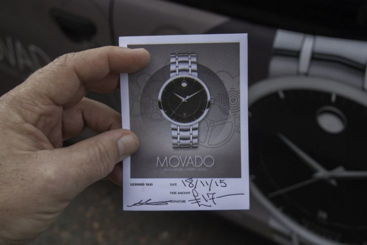 2015 Ubiquitous campaign for Movado Watches - Swiss Heritage. Modern Design